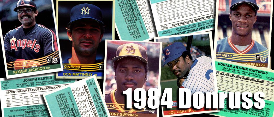 Buy 1984 Donruss Baseball Cards Sell 1984 Donruss Baseball Cards