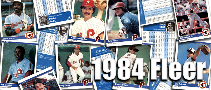 Buy 1984 Fleer Baseball Cards Sell 1984 Fleer Baseball