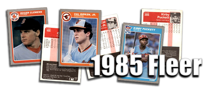 1985 Fleer Baseball Cards