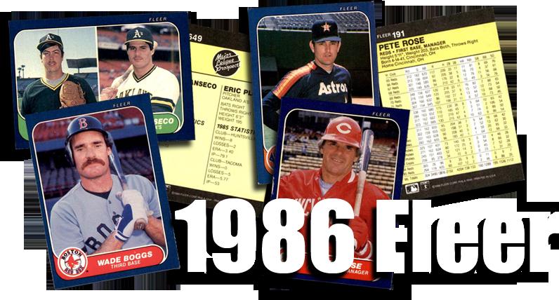 Buy 1986 Fleer Baseball Cards Sell 1986 Fleer Baseball Cards