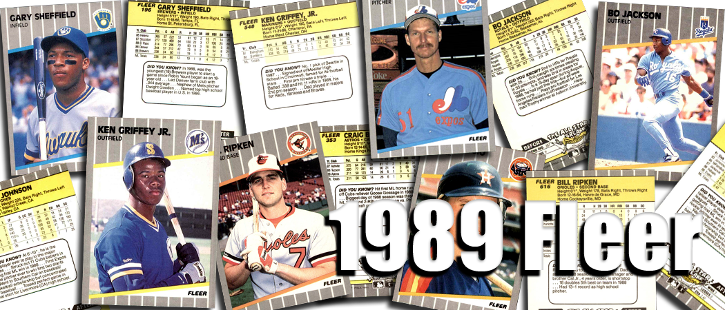 Buy 1989 Fleer Baseball Cards Sell 1989 Fleer Baseball