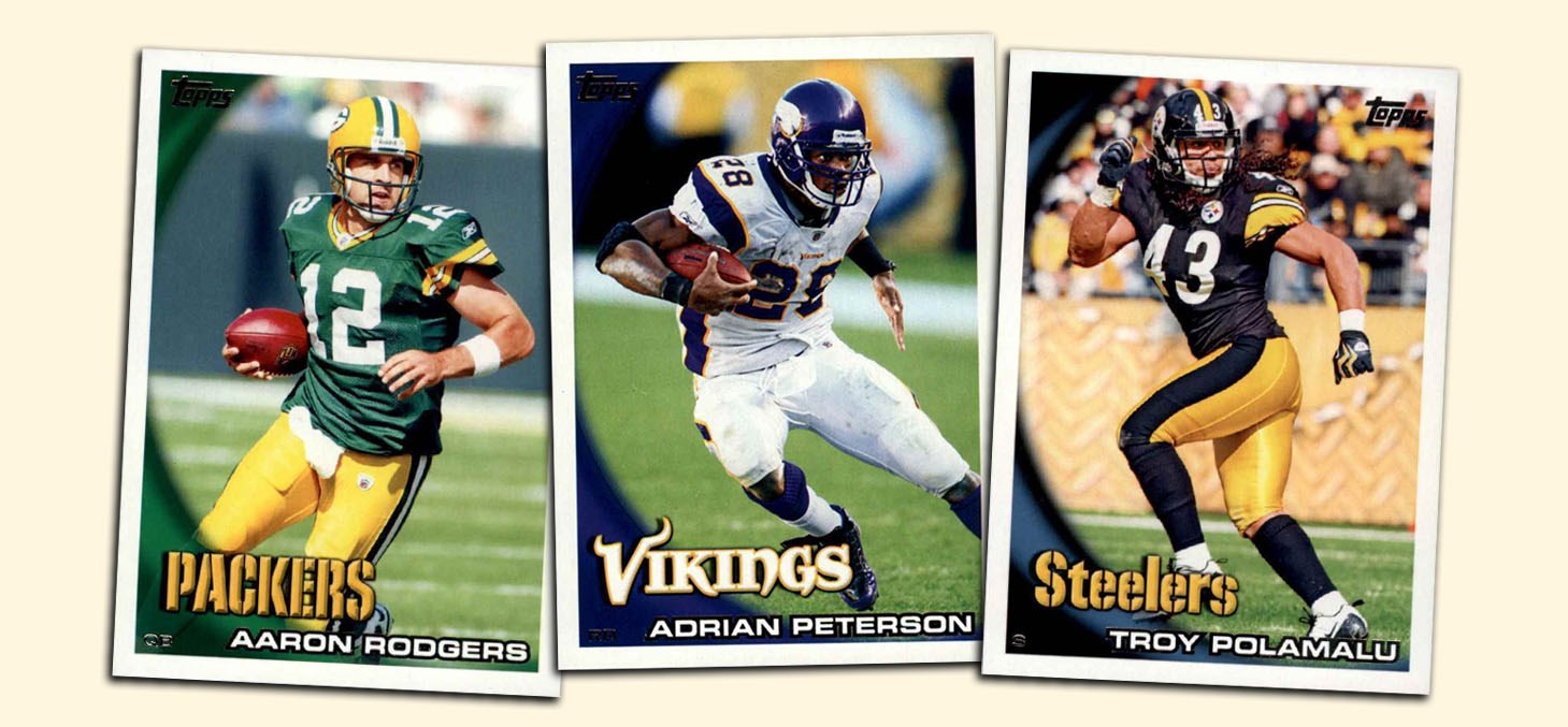 2010 Topps Football Cards