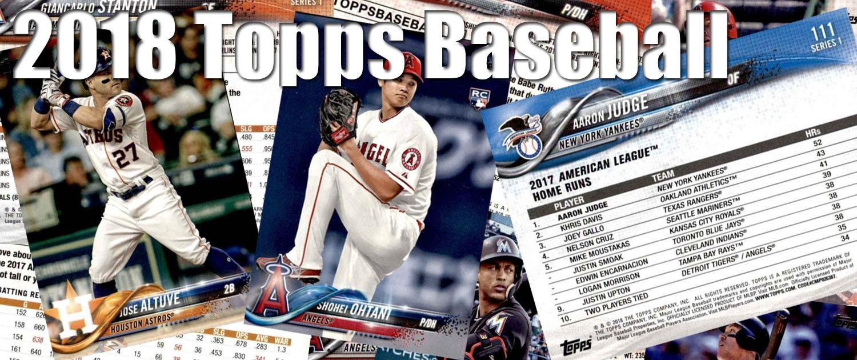 Buy 2018 Topps Baseball Cards Sell 2018 Topps Baseball