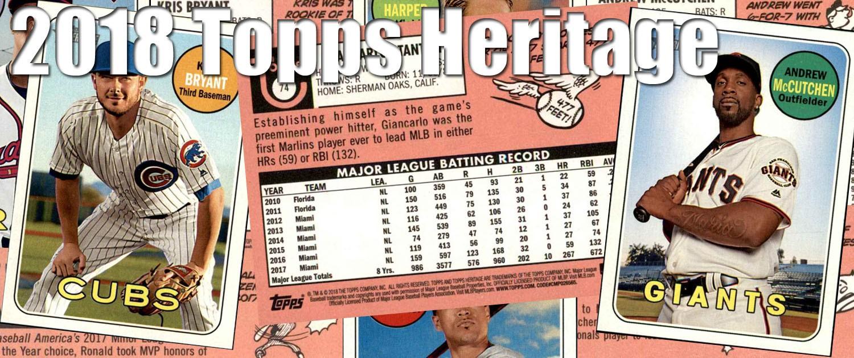 Buy 2018 Topps Heritage Baseball Cards Sell 2018 Topps