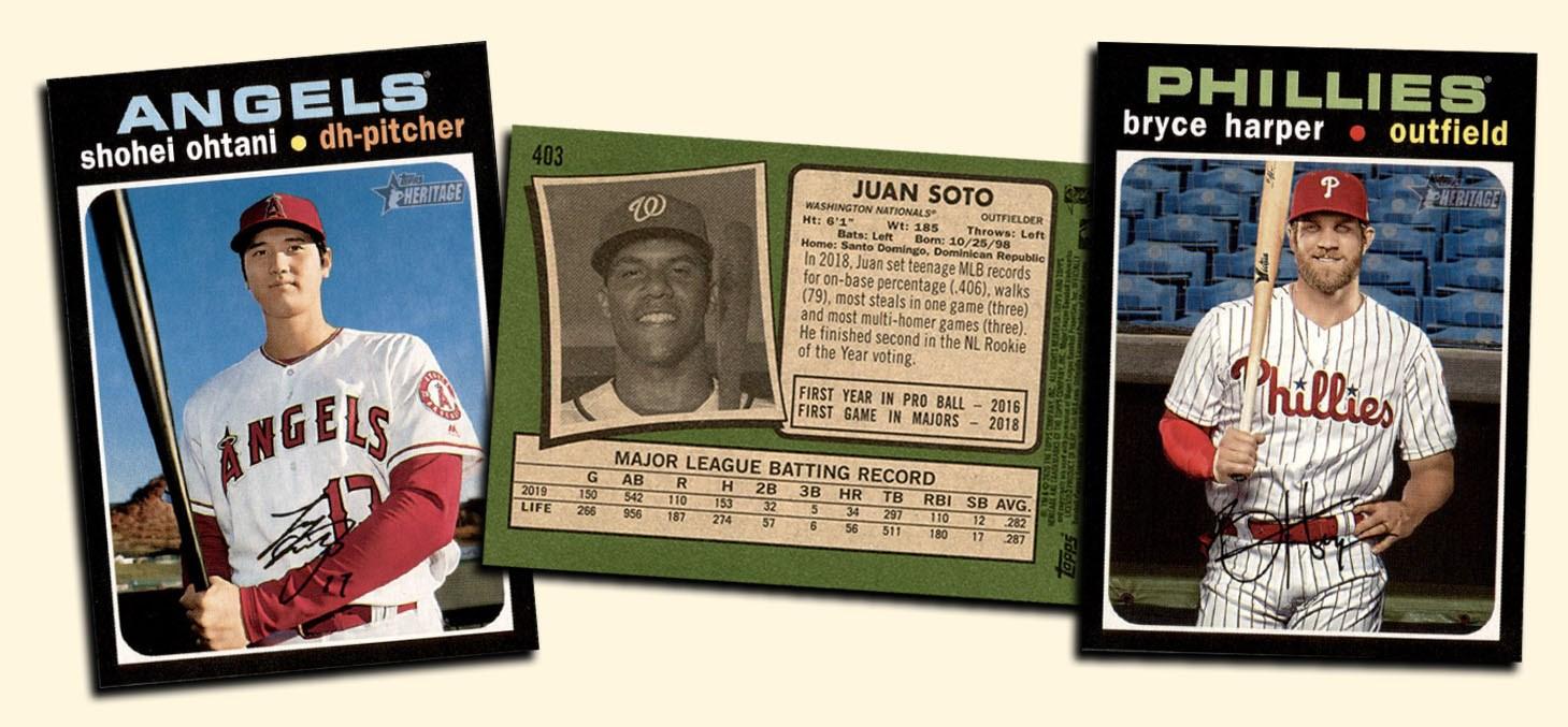 Buy 20 Topps Heritage Baseball Cards, Sell 20 Topps Heritage ...