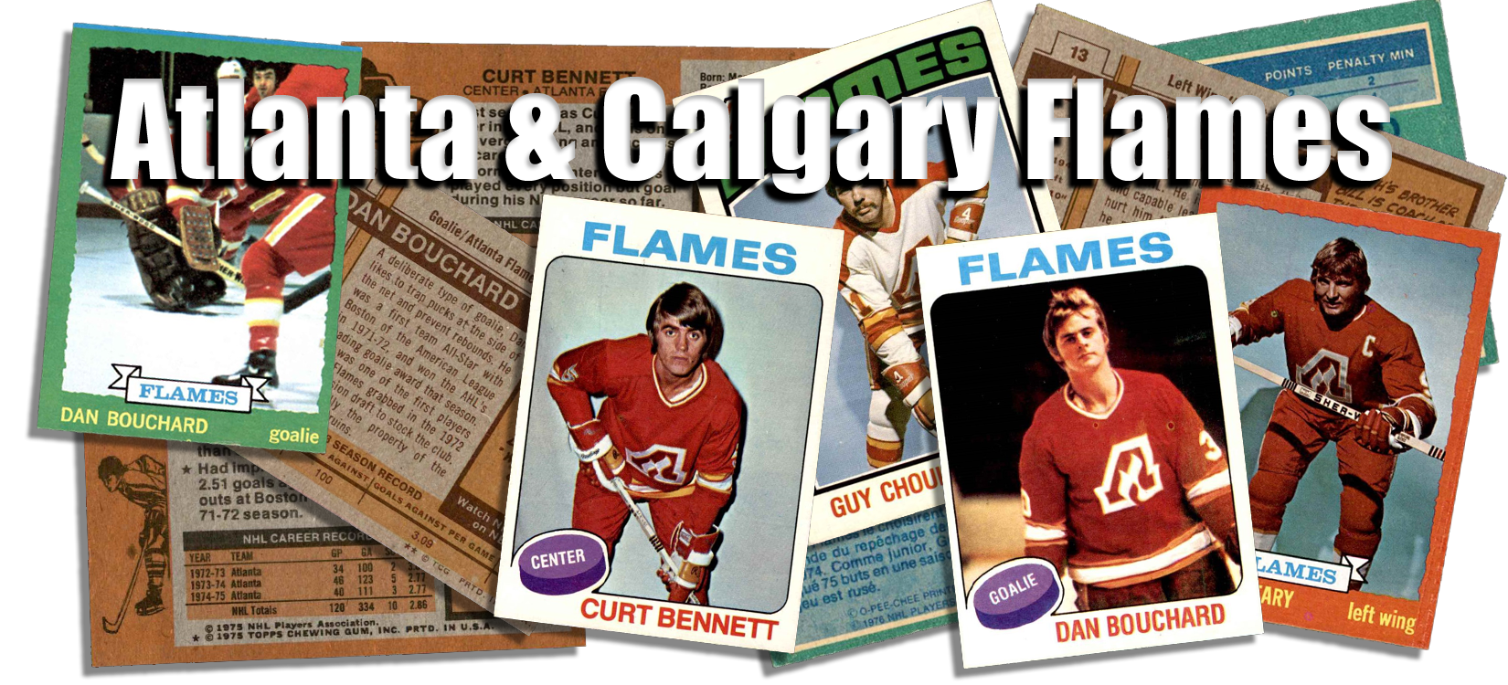 Atlanta & Calgary Flames Team Sets
