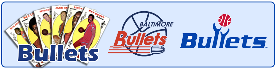 Baltimore, Capital & Washington Bullets (Wizards) Team Sets