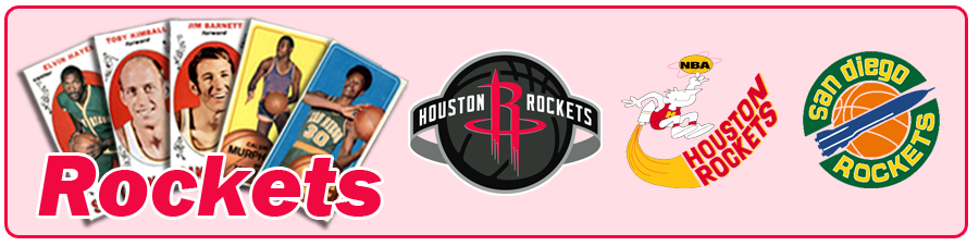 Houston & San Diego Rockets Team Sets