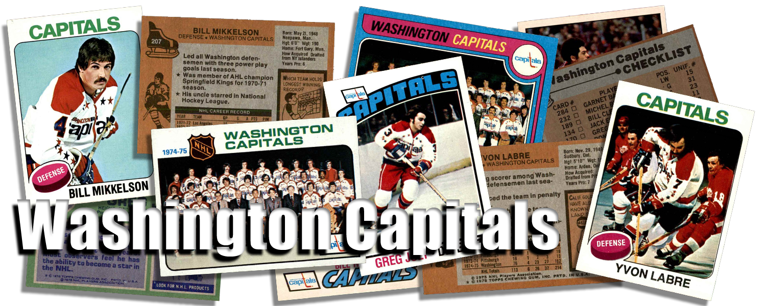Washington Capitals Team Sets