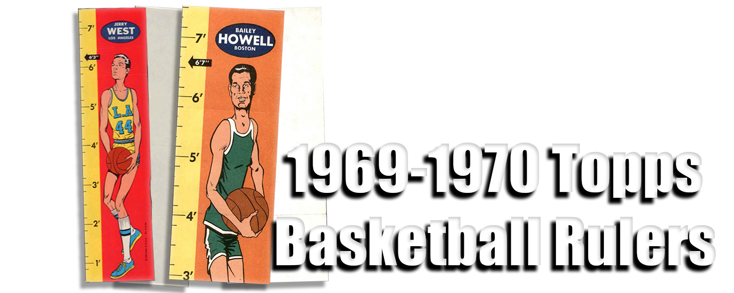 1969-70 Topps Basketball Rulers