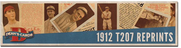 A Dean's Cards exclusive: The T207 Reprint Set