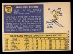1970 Topps #103  Frank Reberger  Back Thumbnail