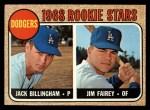 1968 Topps #228   -  Jim Fairey / Jack Billingham Dodgers Rookies Front Thumbnail