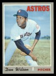 1970 Topps #515  Don Wilson  Front Thumbnail