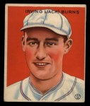 1933 Goudey #198  Jack Burns  Front Thumbnail