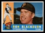 1960 Topps #209  Ron Blackburn  Front Thumbnail