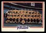 1978 Topps #606   Pirates Team Checklist Front Thumbnail