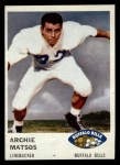 1961 Fleer #142  Archie Matsos  Front Thumbnail