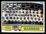 1979 Topps #659   Mariners Team Checklist Front Thumbnail