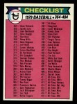 1979 Topps #483   Checklist 4 Front Thumbnail