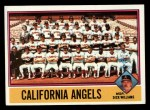 1976 Topps #304   -  Dick Williams Angels Team Checklist Front Thumbnail