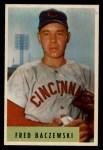 1954 Bowman #60  Fred Baczewski  Front Thumbnail