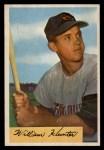 1954 Bowman #5  Billy Hunter  Front Thumbnail