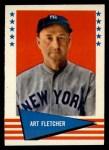 1961 Fleer #106  Art Fletcher  Front Thumbnail