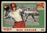 1955 Topps #30  Wes Fesler  Front Thumbnail