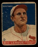 1933 Goudey #62  Pepper Martin  Front Thumbnail