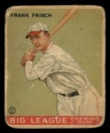 1933 Goudey #49  Frankie Frisch   Front Thumbnail