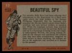 1965 Topps Battle #53   Beautiful Spy  Back Thumbnail
