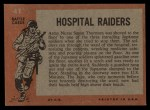 1965 Topps Battle #41   Hospital Raiders  Back Thumbnail