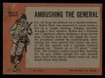 1965 Topps Battle #7   Ambushing the General  Back Thumbnail