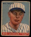 1933 Goudey #94  Bill Walker  Front Thumbnail