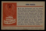 1954 Bowman Power for Peace #22   Ammo Movers Back Thumbnail