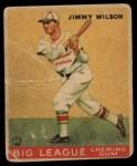 1933 Goudey #37  Jimmy Wilson  Front Thumbnail