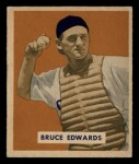 1949 Bowman #206  Bruce Edwards  Front Thumbnail