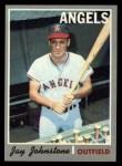 1970 Topps #485  Jay Johnstone  Front Thumbnail