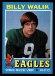 1971 Topps #23  Billy Walik  Front Thumbnail