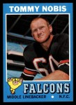 1971 Topps #60  Tommy Nobis  Front Thumbnail