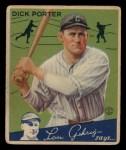 1934 Goudey #43  Dick Porter  Front Thumbnail