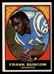 1967 Topps #130  Frank Buncom  Front Thumbnail