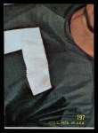 1968 Topps #197  Buck Buchanan  Back Thumbnail