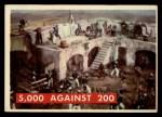 1956 Topps Davy Crockett Green Back #76   5000 Against 200 Front Thumbnail