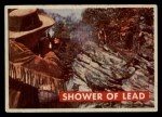 1956 Topps Davy Crockett Green Back #18   Shower of Lead  Front Thumbnail
