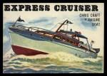 1955 Topps Rails & Sails #135   Express Cruiser Front Thumbnail