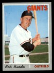 1970 Topps #357  Bob Burda  Front Thumbnail