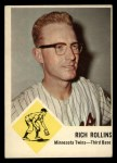 1963 Fleer #24  Rich Rollins  Front Thumbnail