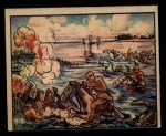 1938 Gum Inc. Horrors of War #129   Swimming Jap Calvary Repulsed by Chinese Front Thumbnail